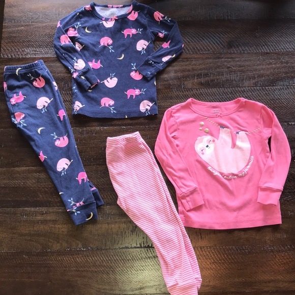 407376edb Carter's Pajamas | Carters Sloth Pajama Bundle | Poshmark